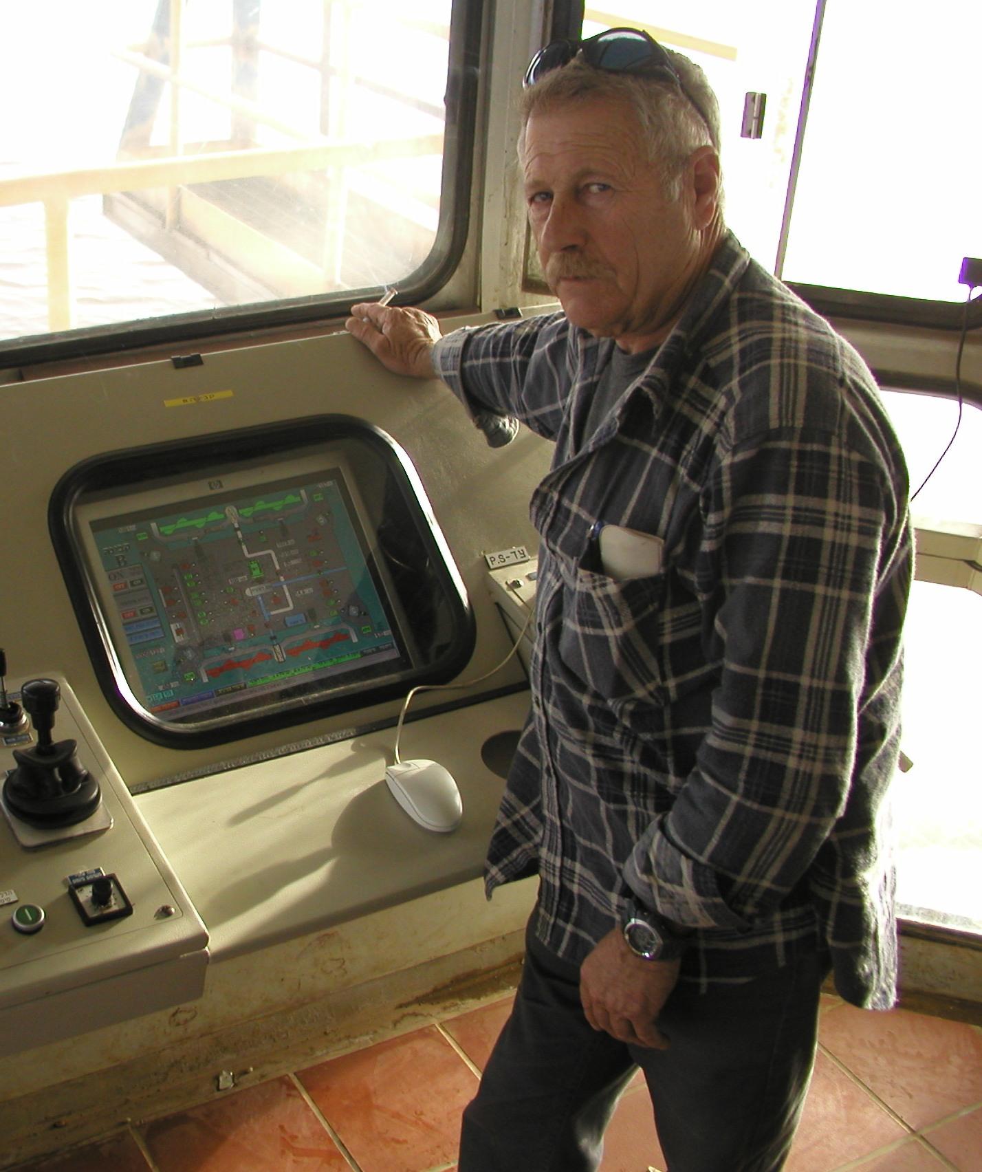 נתן בסר, ראש מחלקת הפעלה במפעל חומר גלם של מפעלי ים המלח