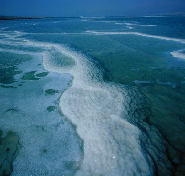 בריכת אידוי בים המלח